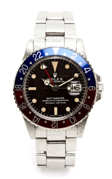 1970s Rolex GMT Master by Carl Cohen for Preorder on Moda Operandi