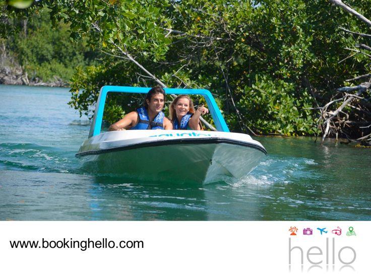 VIAJES DE LUNA DE MIEL. Si planeas viajar a Cancún para disfrutar tu luna de miel, en Booking Hello te recomendamos gozar al máximo de su oferta turística. La Laguna Nichupté es una excelente opción para contemplar la biodiversidad, ecosistemas y fauna que distinguen a este destino. Te aseguramos que tú y tu pareja pasarán un día divertido, admirando toda la belleza de este lugar. #lunademielenelcaribe