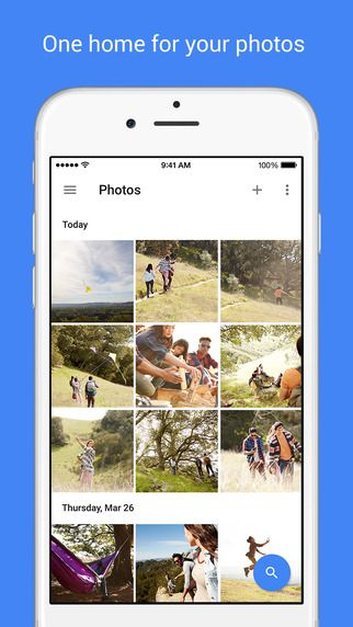 Google Photos - store, search, and share by Google, Inc.