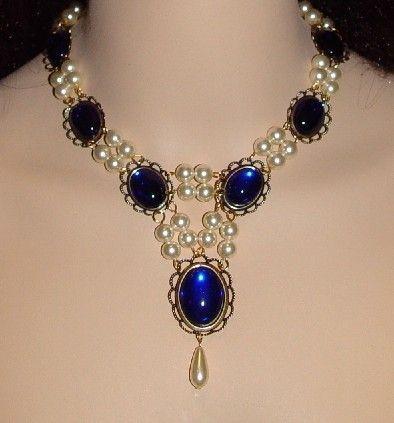 Collar renacentista Medieval collar collar de Tudor por DRAGONPIPES