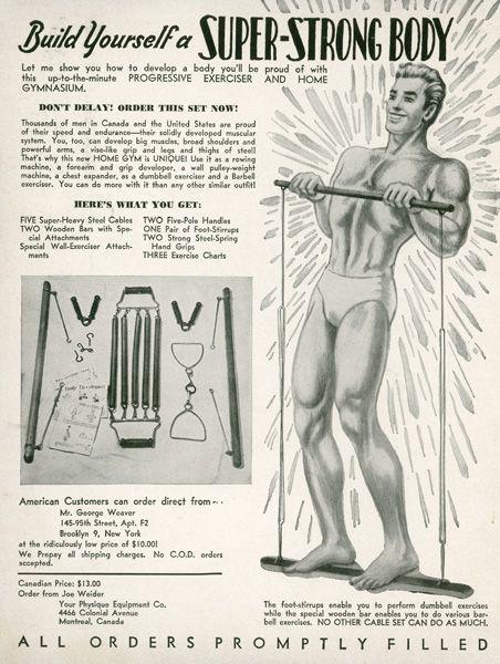 vintage magazine ads | Vintage Weider Magazine Ads | Joe Weider