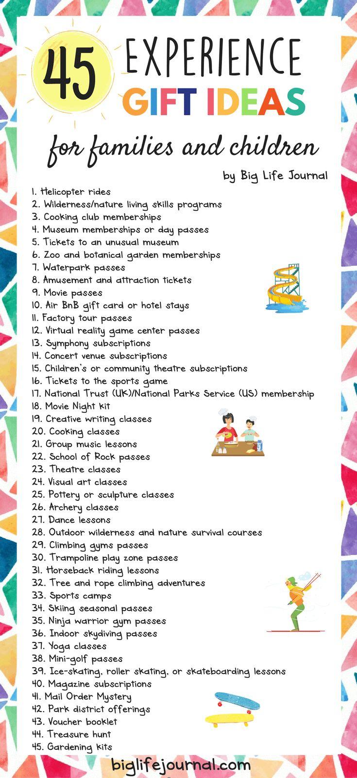 Best 25+ Experience gifts ideas on Pinterest | Birthday money ...