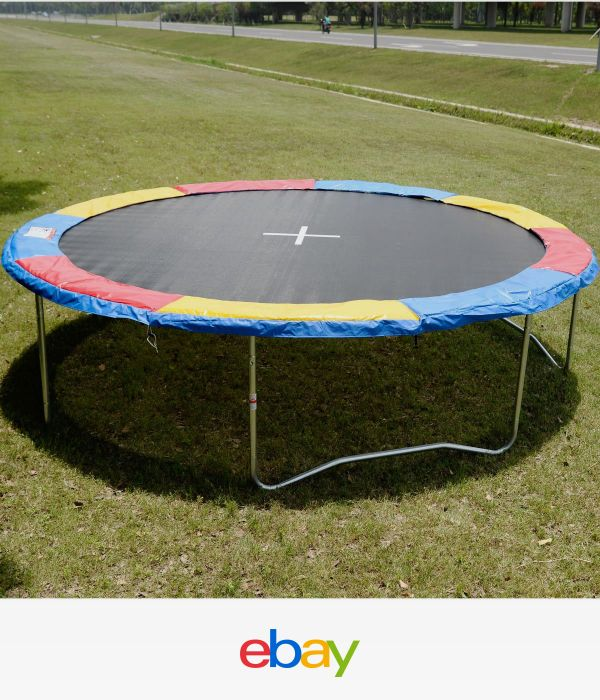 14 Ft Trampoline Safety Pad Epe Foam: 17 Best Ideas About Trampoline Spring Cover On Pinterest