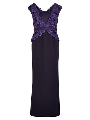 Damson Lace Gown