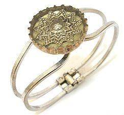 Bottle cap bracelet tutorial