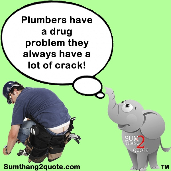 Quote Of The Day Quotes Funny Humor Silly Plumbers