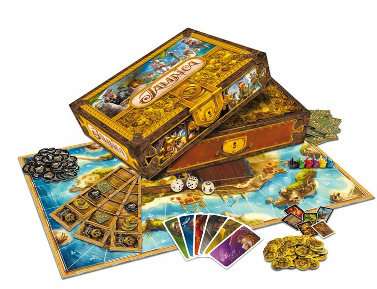 Jamaican board game (pirate) by GameWorks.ch