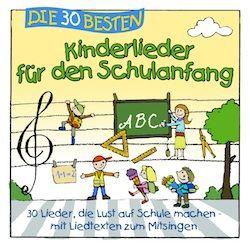 Geschenkidee zur Einschulung: Kinderlieder für den Schulanfang