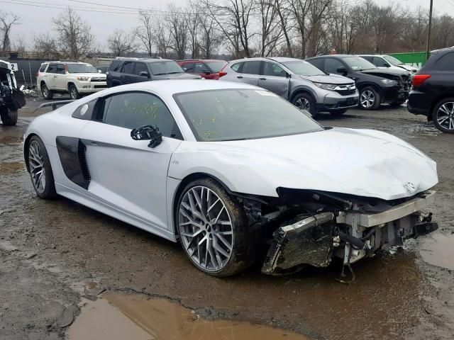 Salvage 2017 Audi R8 5 2 Plus Quattro Audi For Sale Audi R8 For Sale Audi