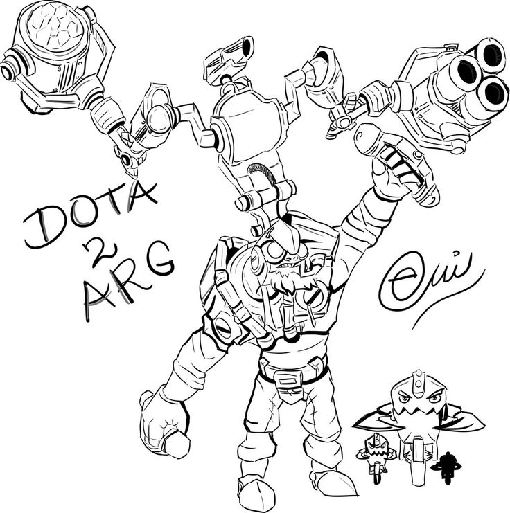 Tinker Dota 2 by EmiDrawings.deviantart.com on @DeviantArt