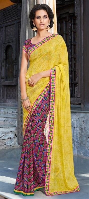 #saree #IndianFashion #Prints #ss15 #onlineshopping #partywear