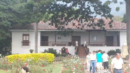 Hacienda  El Paraiso escenario  de la novela  romántica  La Maria de Jorge  Isaac