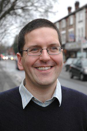 Irish poet John McAuliffe, featured on PI in November 2013.