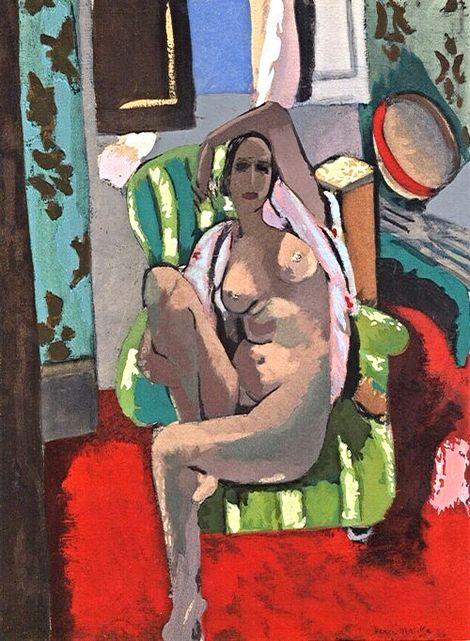 Henri Matisse, Odalisque with Tambourine, 1925 on ArtStack #henri-matisse #art