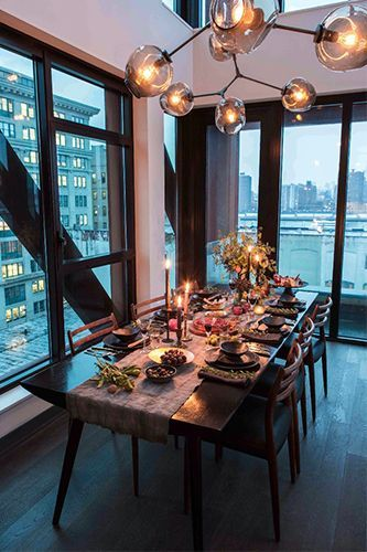 Athena Calderone's Holiday Tablescape Puts All Others To Shame #refinery29  http://www.refinery29.com/eye-swoon/21#slide-12