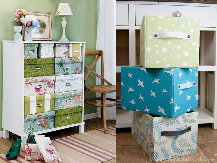 Las 25 mejores ideas sobre cajas forradas con tela en - Cajas de decoracion ...