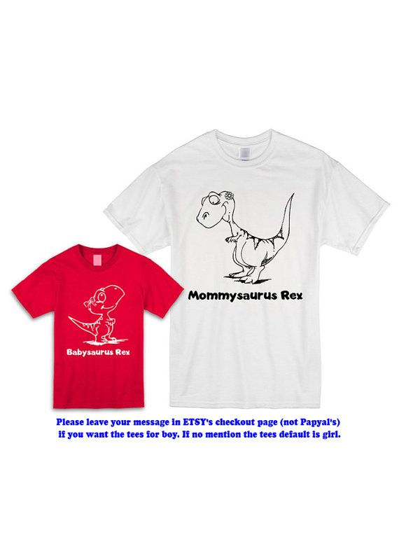 Matching Shirts Mommy and Son Daughter Kids by CoolTeesOnline