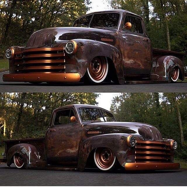 211 Best Images About 47-54 Chevy Trucks On Pinterest