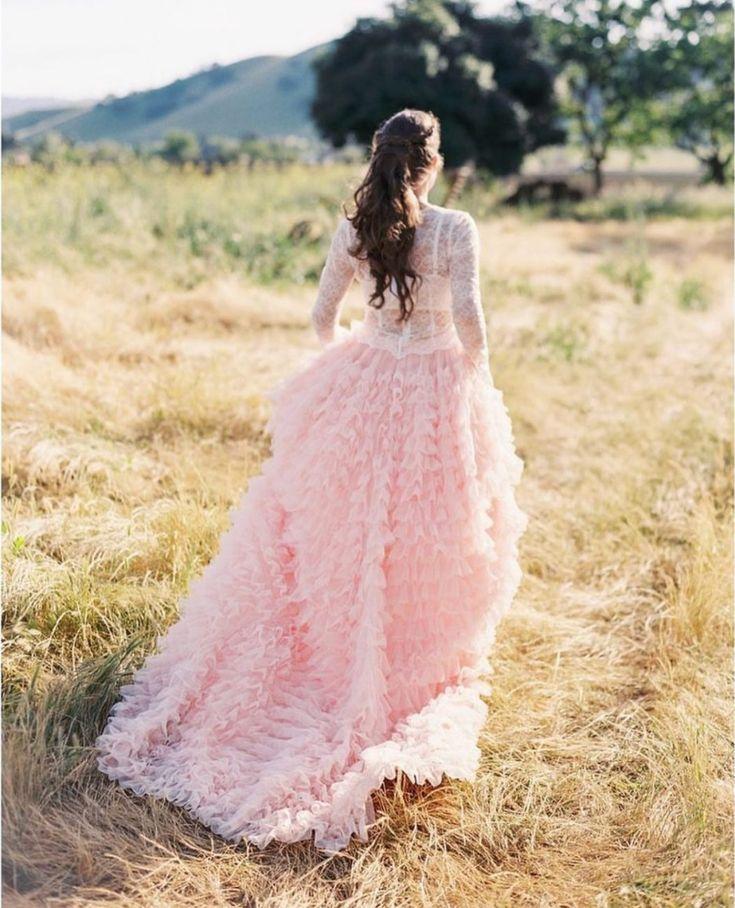 #チュール #チュールスカート #カラードレス