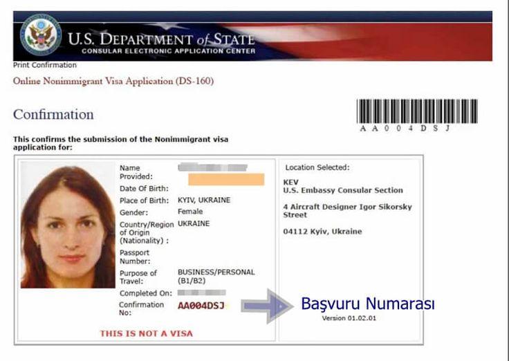 Amerika vize başvurusu yaparken doldurmanız gerekends 160 formu hakkında kapsamlı bilgi.