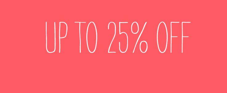 Δεκαήμερο εκπτώσεων μέχρι και 13 Μαΐου ! Μπες στο The Boudouzi Project jamjar store και εκμεταλλεύσου εκπτώσεις μέχρι και 25%!!! http://www.jamjar.gr/store/theboudouziproject