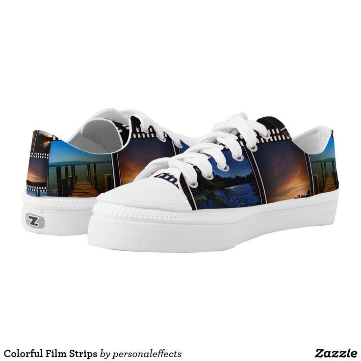 Colorful Film Strips - shoe, shoes, sneakers, film stripe, film, pictures, gift,  gifts, gifts ideas,