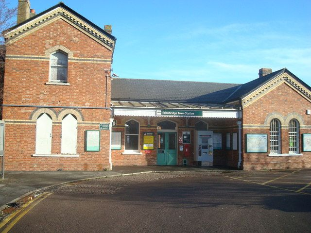 Edenbridge Town Railway Station (EBT) in Edenbridge, Kent