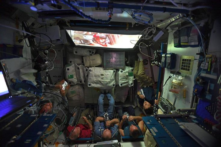 Space station crew watched Star Wars: The Last Jedi from orbit