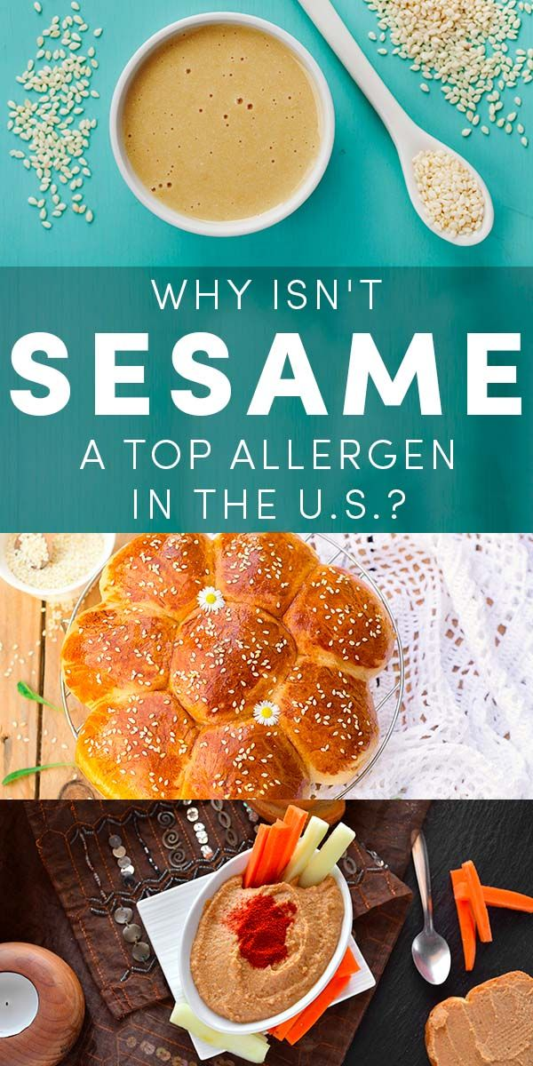 Sesame allergies need to get more attention. Allergist say that sesame allergies are on the rise, and the reactions can be just as severe as a peanut allergy.