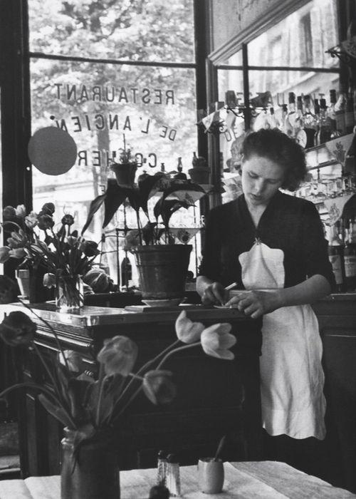 Édouard Boubat: Paris, 1952.  #paris
