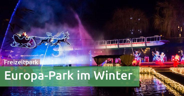 Winterwunderland im Europa-Park: Entdeckungsreise mit Kleinkind