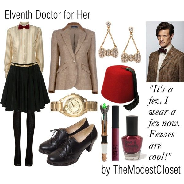 """Doctor Who - The Eleventh Doctor for Her"" by themodestcloset on Polyvore"