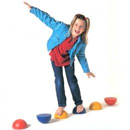 Balancing plastic hemispheres set of 6 for kids dr for Motor planning disorder symptoms