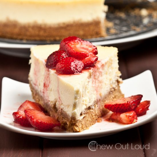 This New York Stye Cheesecake is pure decadence. Rich, creamy, smooth, and indulgent. Just like your favorite cheesecake restaurant. No cracking/sinking.