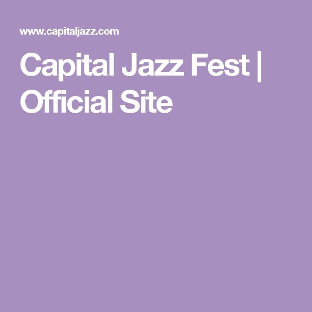 Capital Jazz Fest | Official Site