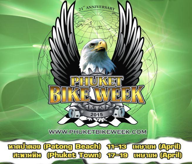 Phuket Bike Week 2015