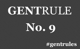 Always seat ladies at the table first, then take your seat. #GentRules