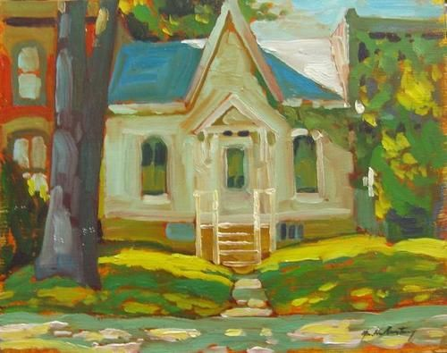 Garth Armstrong - Cabbagetown Toronto (2) 8 x 10