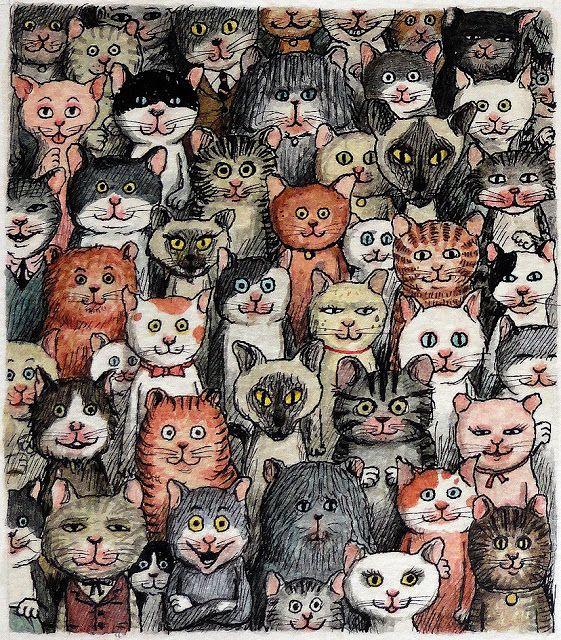 Koty na jesień