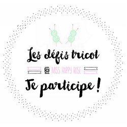 Défi tricot N°6 : Pâques - Miss Happy Rose | Blog Tricot, DIY, Lifestyle