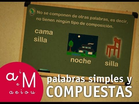 La Eduteca - Palabras simples y palabras compuestas - YouTube