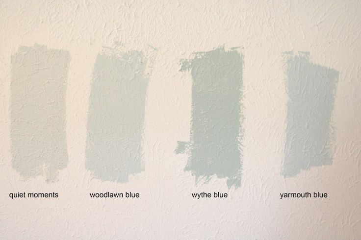 benjamin moore quiet moments | and Benjamin Moore HC-150: Yarmouth Blue