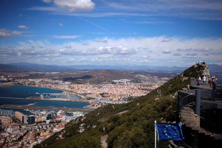 """Often referred to as """"The Rock"""", Gibraltar is a British overseas territory on the southern tip of Spain.  Madrid claims sovereignty over the territory -- which it ceded to Britain in 1713 -- and the issue has often caused diplomatic tensions with London.  Gibraltar's status after Britain leaves the EU is set to be one of the most contentious issues in complex exit talks expected to last years."""