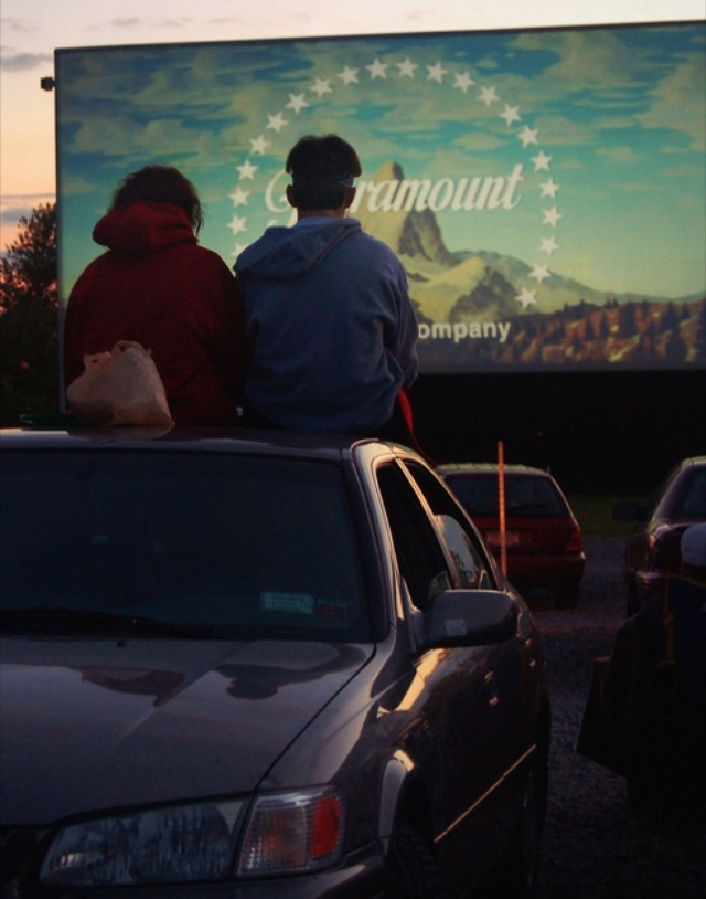 a good ol' fashioned drive in on a summer night is a sweet date : )