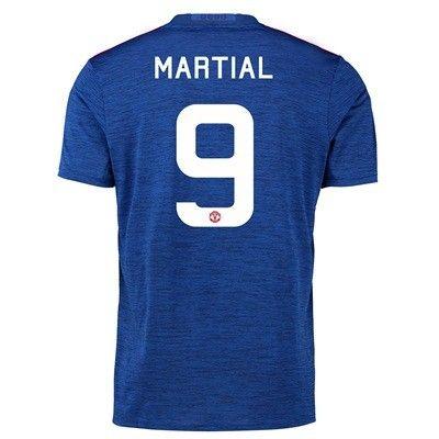 Manchester United 16-17 Anthony Martial 9 Udebane Trøje Kortærmet.  http://www.fodboldsports.com/manchester-united-16-17-anthony-martial-9-udebane-troje-kortermet.  #fodboldtrøjer
