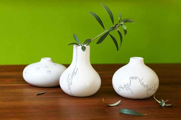 Porzellan Vasen Daniela Fugger1 DIY   Kaffee Porzellan kreativ verzieren