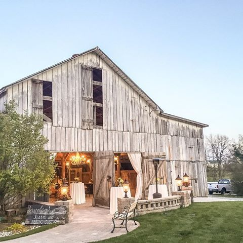 The Barn At Springhouse Gardens In Nicholasville Ky Historic Is Now A Breathtaking Venue Capturing Char