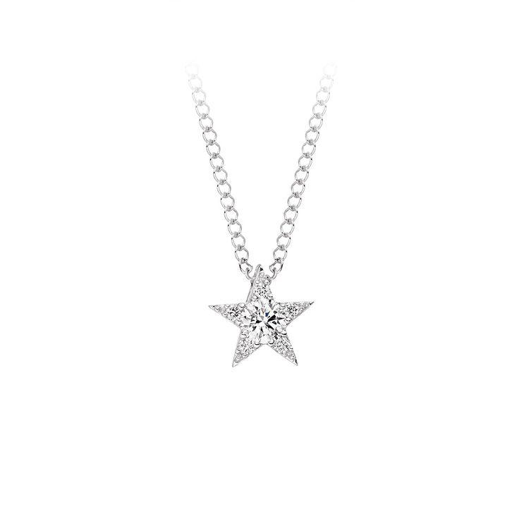 Diamond Star Pendant £199 Vashi.com