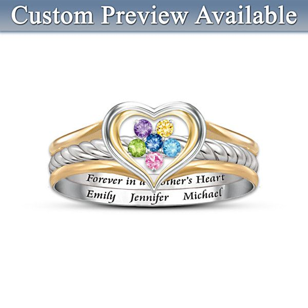 a s loving personalized ring i this