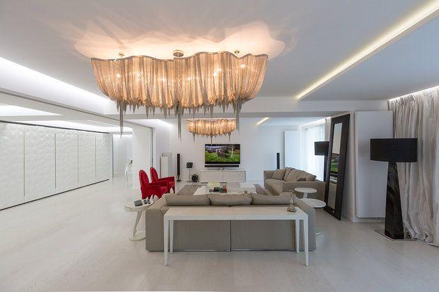 Apartament aflat într-un bloc nou de locuinţe din cartierul Primăverii, semnat AA Studio http://www.igloo.ro/articole/apartament-amvbt/